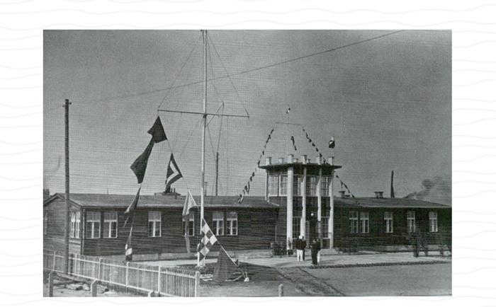 Powojenna siedziba Klubu, lata 50-te