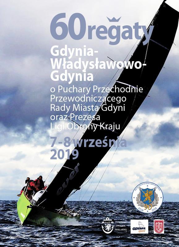 60. Regaty Gdynia – Władysławowo – Gdynia w 2019 roku