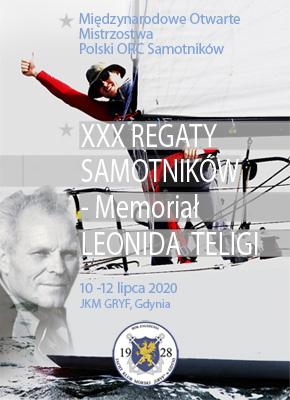 Mistrzostwa Polski ORC Samotników, XXX Regaty Samotników – Memoriał Leonida Teligi w 2020 roku